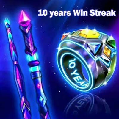 8 ball pool 10 years Win Streak