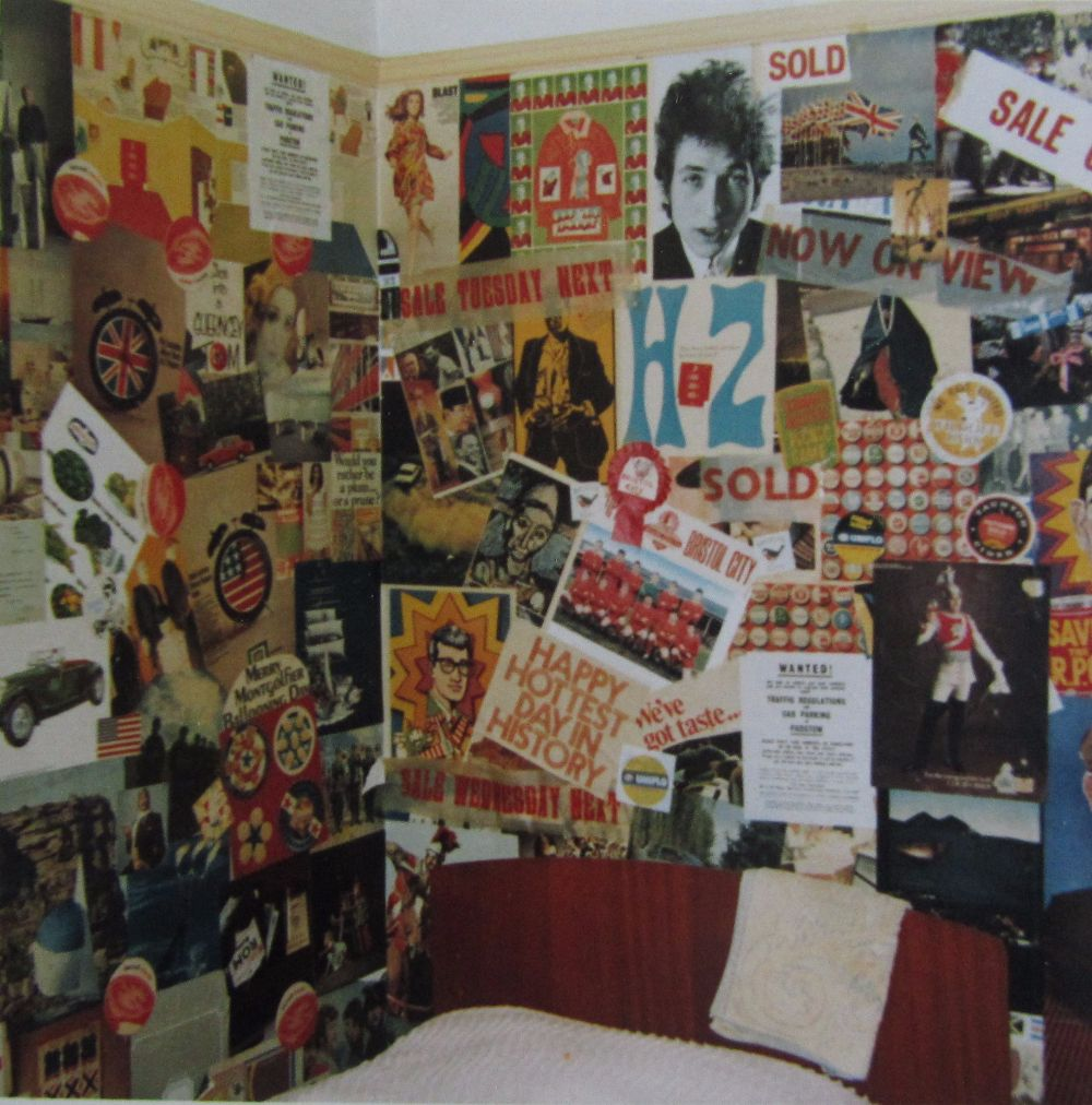 Teen Girl Bedroom One Wall Wallpaper 15 Vintage Photographs That Show Teenage Bedrooms From