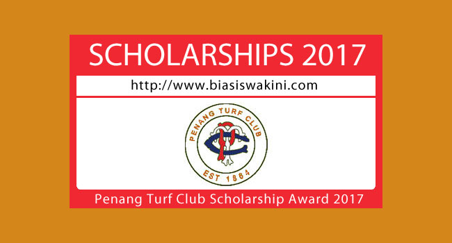 Penang Turf Club Scholarship Awards 2017