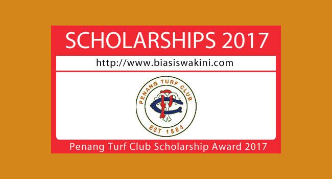 Penang Turf Club Scholarship Awards 2017