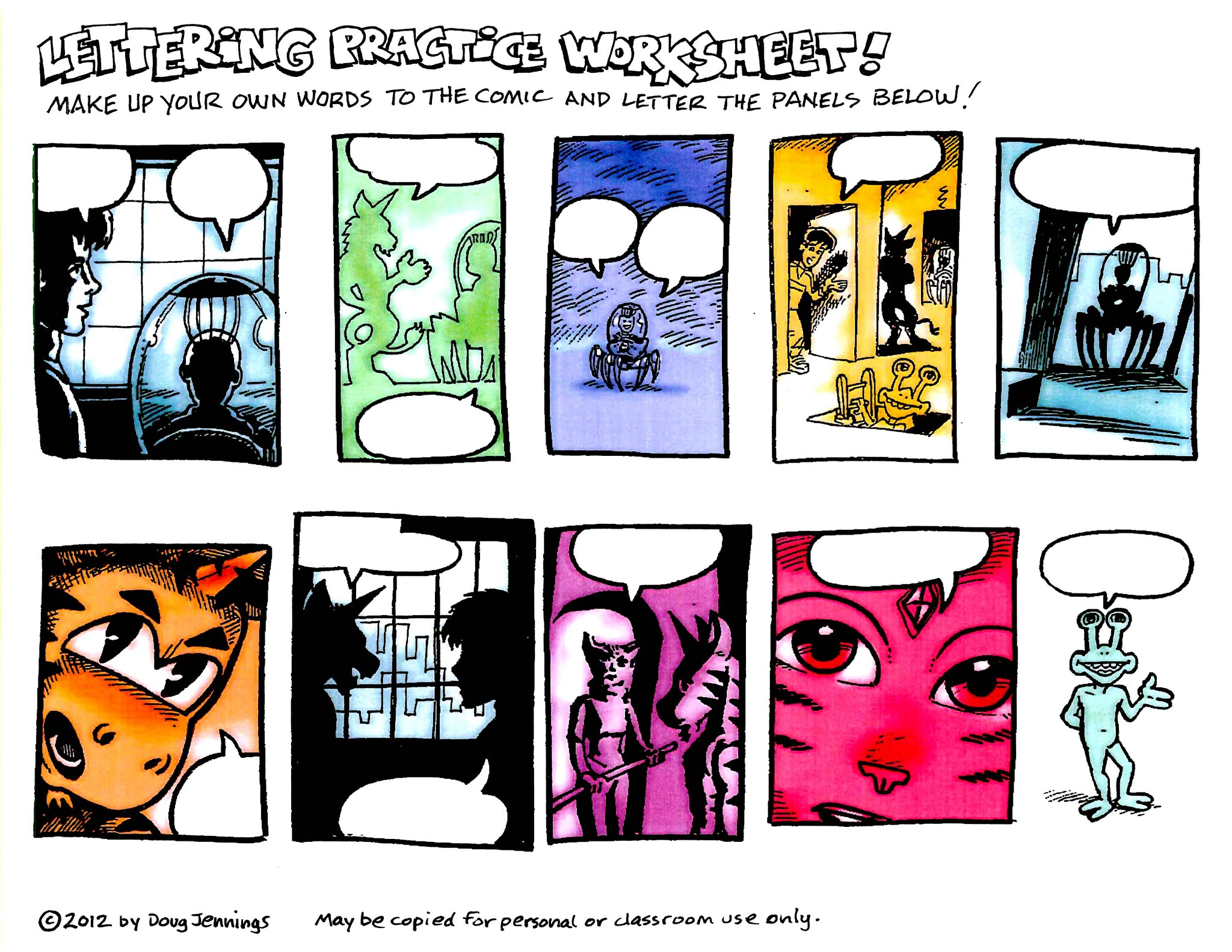 Point Of Exquisite Suspension Comic Worksheet For Story