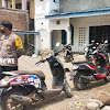 Personel Polri Jajaran Polres Takalar, Lakukan Pengamanan di Mesjid Saat Sholat Jum'at  Berlangsung