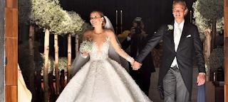 Αυτός ήταν ο γάμος της χρονιάς, παντρεύτηκε η κόρη του Swarovski - Το νυφικό των 46 κιλών με τους 500.000 κρυστάλλους