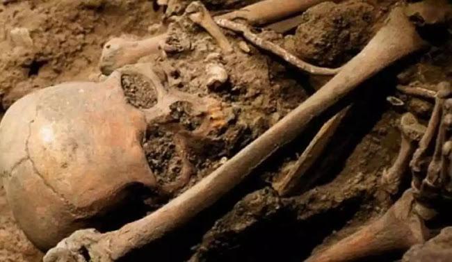 Βγήκε βόλτα σε χωριό του Αιγίου και «σκόνταψε» σε πιθάρι γεμάτο με ανθρώπινα οστά του 8ου π.Χ. αιώνα!
