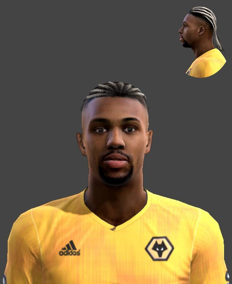 Ultigamerz Pes 2013 Adama Traore Wolves Face 2020 21
