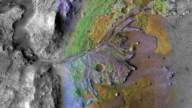 Strange Martian mineral deposit likely sourced from volcanic explosions
