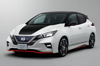 Nissan Leaf Nismo Concept (2018) Front Side