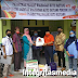 Wujud Kepedulian, Adi Warman Anggota DPRD Prov. SumBar Salurkan Bantuan APD di Nagari Koto Rantang