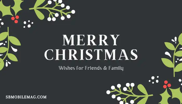 Christmas Wishes to Friends, Christmas Wishes to Family