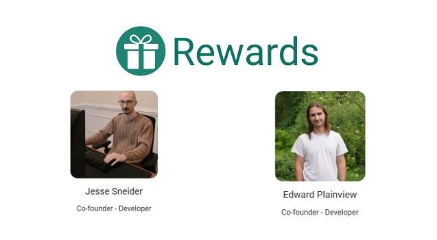 Rewards (RWD) Co-Founder & Developer