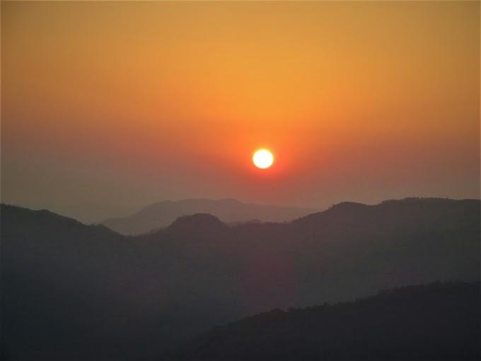 Serene Sunset at Chikhaldara