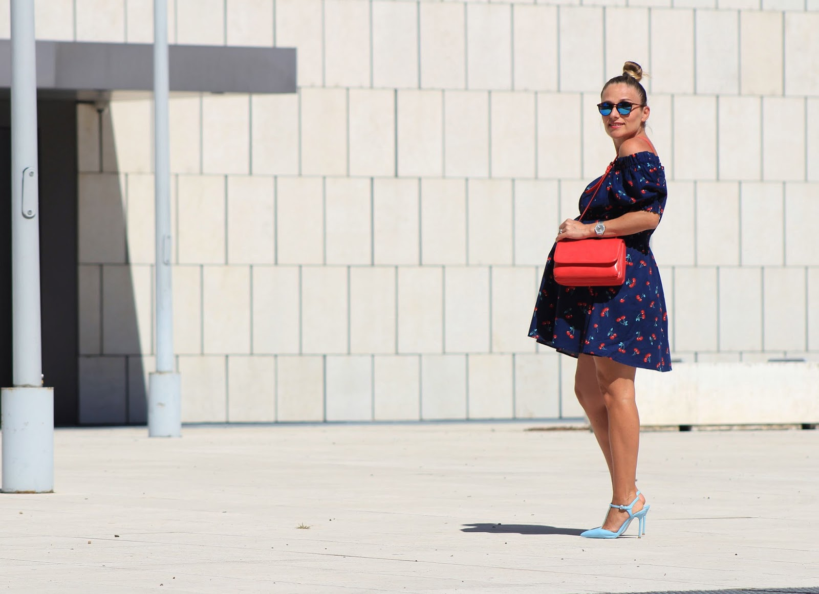 How to wear a cherry dress - Eniwhere Fashion - Rosegal