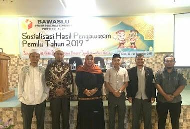 Gandeng STISNU Aceh Sosialisasi Hasil Pemilu, Bawaslu Tekat Munculkan Kader Pengawasan