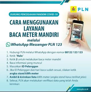 Cara Catat Dan Kirim Foto Meter Listrik PLN Secara Mandiri Melalui Whatsapp