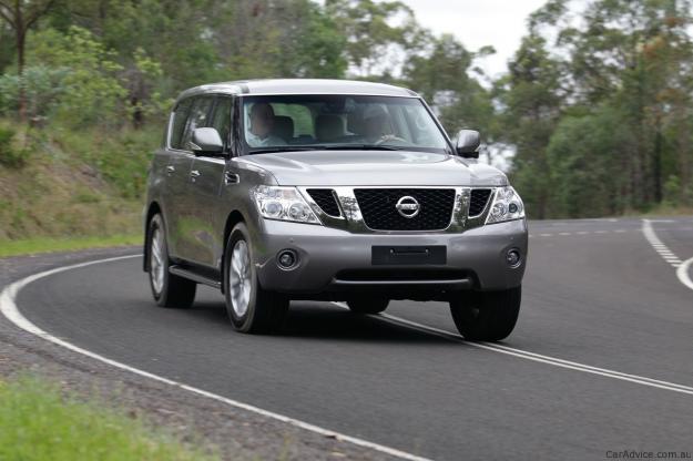 Automotive spare parts for: Nissan Patrol