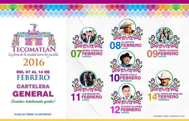 programa feria tecomatlán 2016