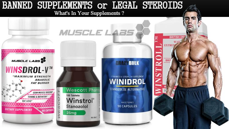 Winsdrol Supplements vs The Stanozolol Steroids