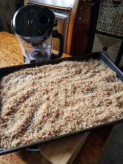 How to make Dried Bread Crumbs.