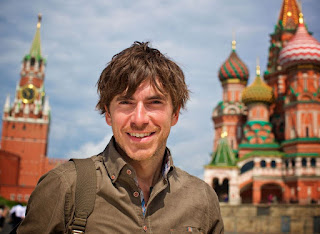 Picture of Anya Reeve's husband Simon Reeve