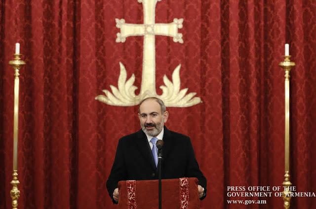 Pashinyan responde a provocación azerí en Milán