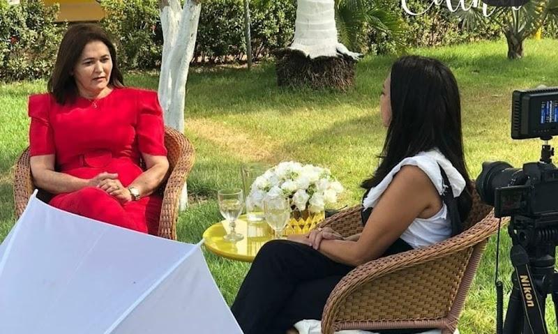 """""""Por onde andamos tem gente dizendo que já somos vitoriosos"""", diz Edina Fontes em entrevista"""