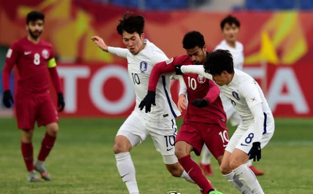 Video U23 Hàn Quốc - U23 Qatar: Phạt đền hỏng ăn, huy chương tan biến