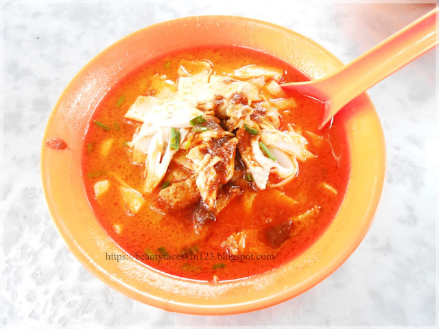 curry mee, Glutton Square Teluk Intan