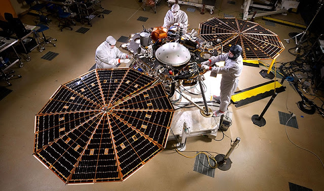 NASA confirma que tentará lançar InSight em maio de 2018