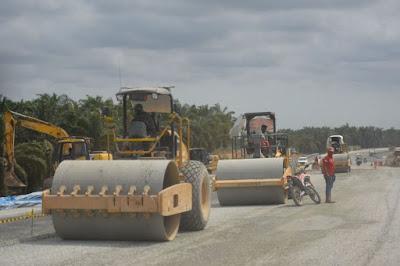 Progres Pembangunan Tol Pekanbaru-Bangkinang Capai 66,64 Persen