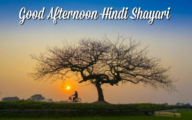 Good Afternoon Hindi Shayari, Images | Shubh Dopahar Shayari