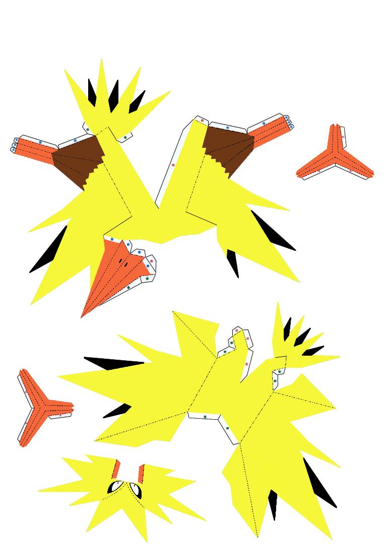 Papercraft pokemon pikachu papercraft templates pokemon papercraft.