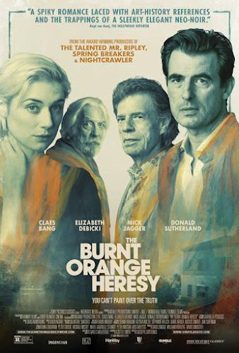 The Burnt Orange Heresy (DVDRip Ingles Subtitulada) (2019)