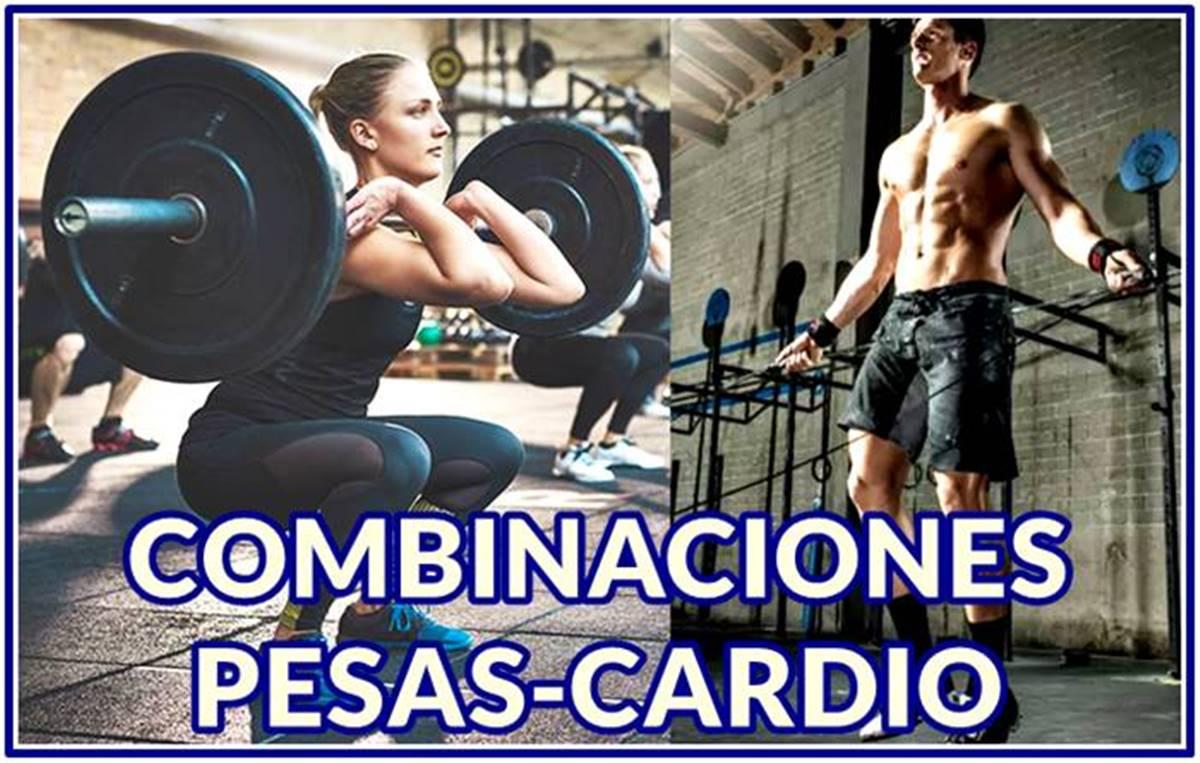 Maneras efectivas de Combinar Cardio y Pesas para eliminar grasa y ganar músculo