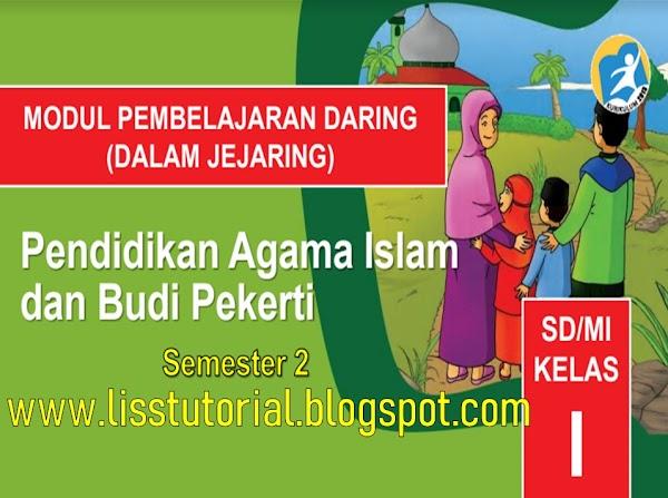 Download Modul BDR PAI Dan BP Semester 2 Kelas 1 SD/MI Kurikulum 2013