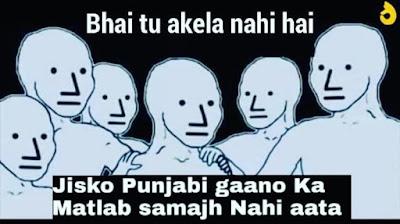 Bhai Tu Akela Nahi Hai Meme