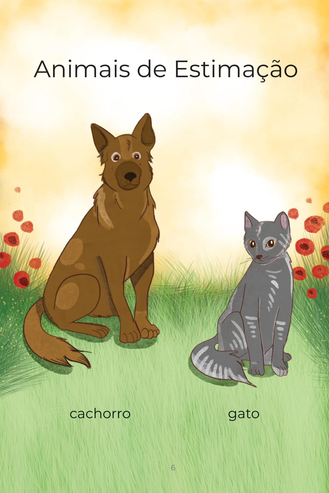 Animais de Estimação cachorro gato