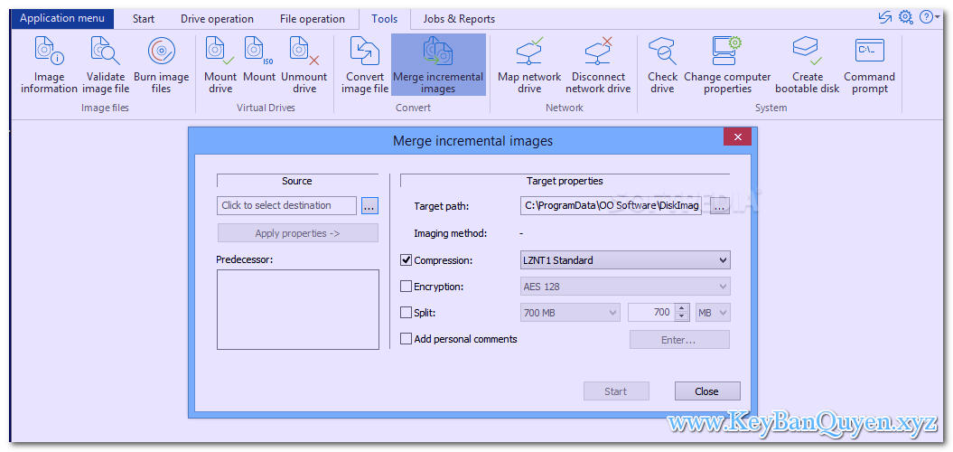 Download O&O DiskImage Server 14.1 Build 355 Full Key, Phần mềm sao lưu ổ đĩa và chống phân mảnh máy chủ.
