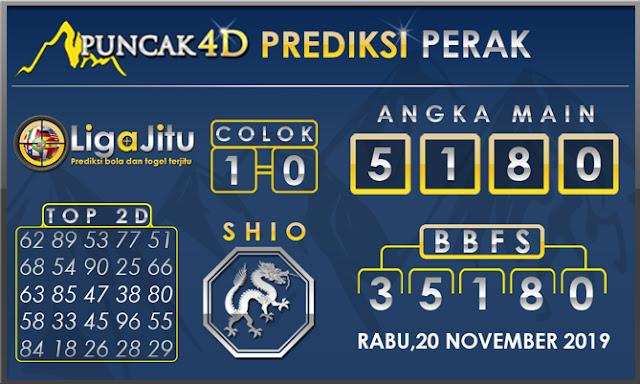 PREDIKSI TOGEL PERAK PUNCAK4D 20 NOVEMBER 2019