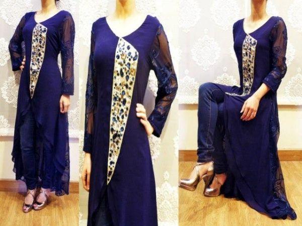 074d6676e Skills Pak  Noor Sahar Latest Winter Party Wear Dresses 2013 For Women
