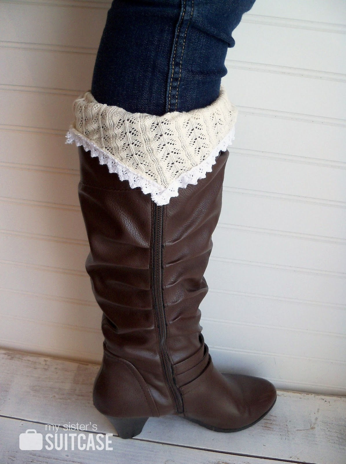 How To Make Boot Socks From Old Sweaters Infarrantly