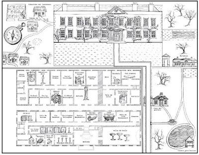 Resultado de imagen de mapa las siete muertes de evelyn hardcastle
