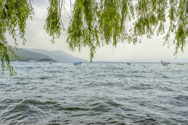 Ohrid Lake, Ohrid city, Macedonia