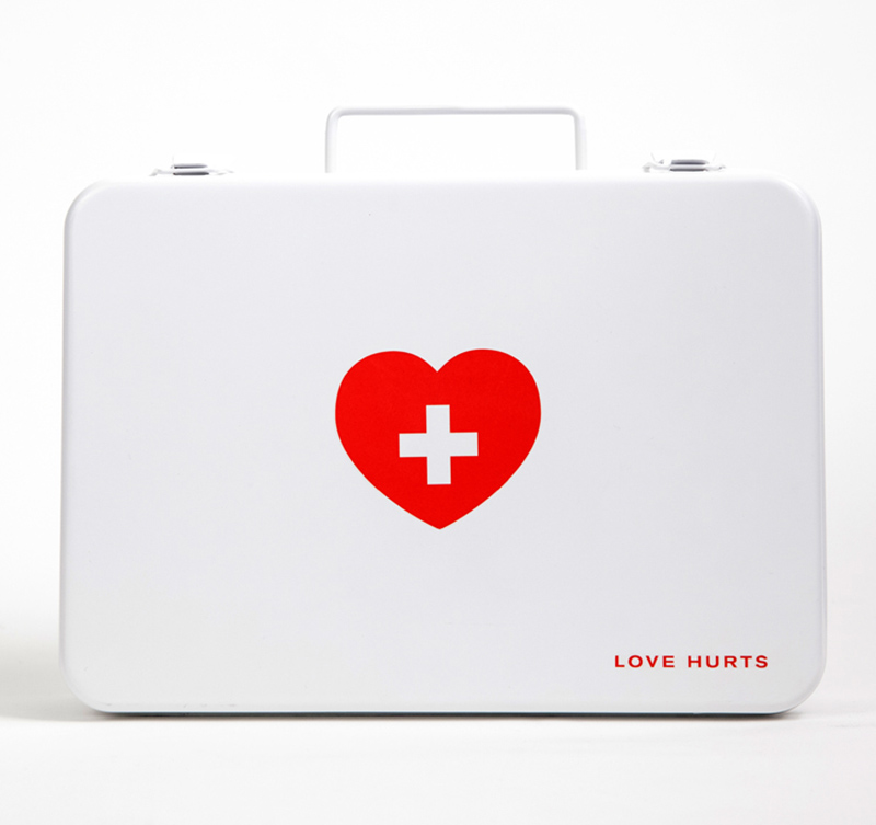 First Aid Kit For The Broken Heart
