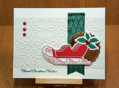 Heart's Delight Cards, Wishes & Wonder, 2020 Aug-Dec Mini, 12 Days of Christmas in July, Stampin' Up!
