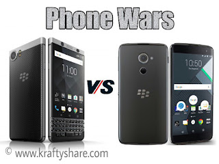 Blackberry KEYone vs Blackberry DTEK60
