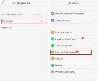 Cara mengunci Aplikasi DI Hp Oppo F3