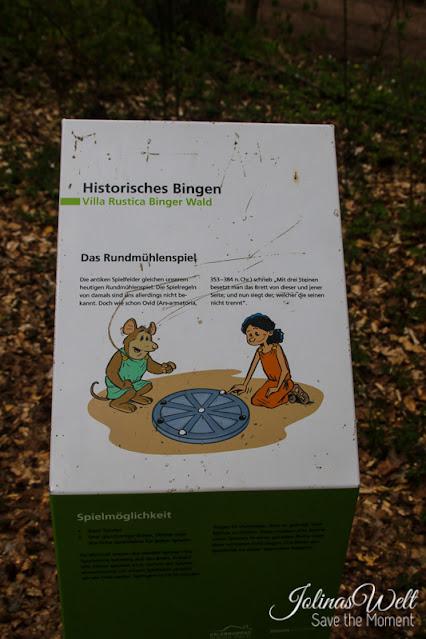 römisches Spiel in der Villa Rustica Binger Wald