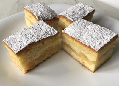 Ciasto z jabłkami na deser