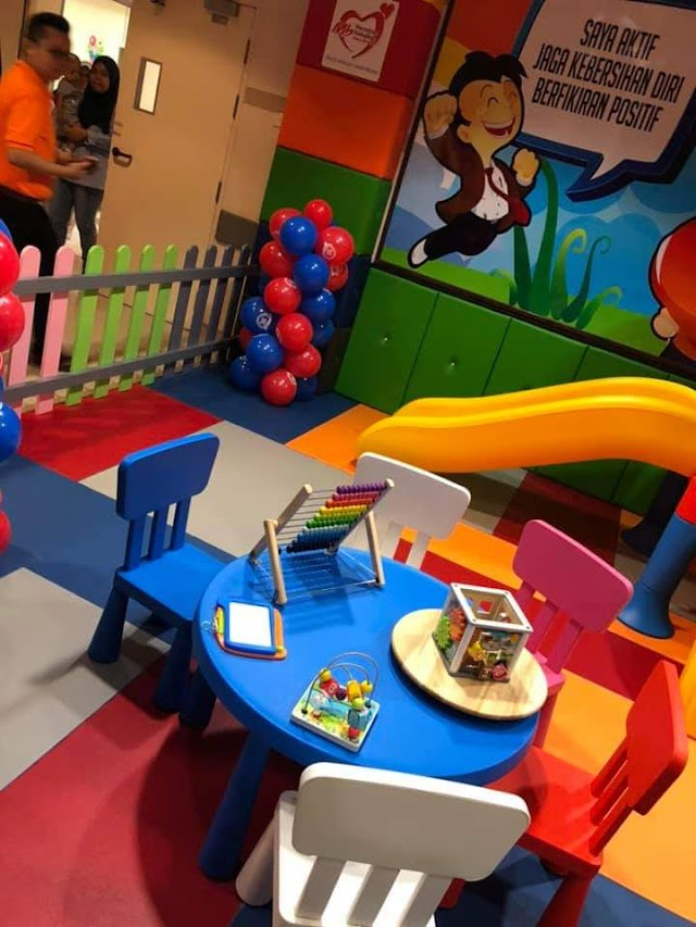 MARRYBROWN BRINGS A FUN-FILLED AMBIENCE TO HOSPITAL SULTAN ISMAIL WITH MB PLAYLAND