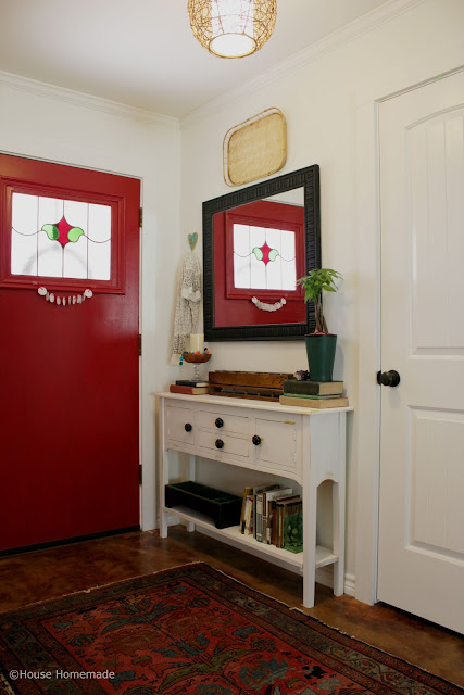 Entry Way Makeover